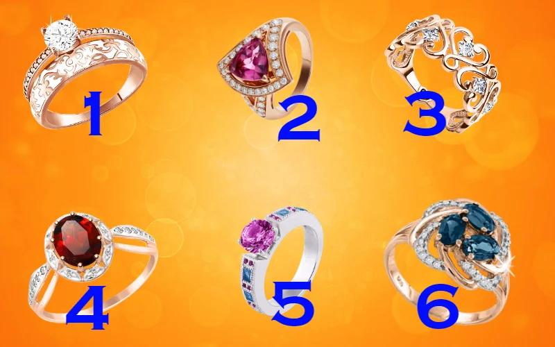 Тест: Выбирайте кольцо и узнаете, какая вы женщина