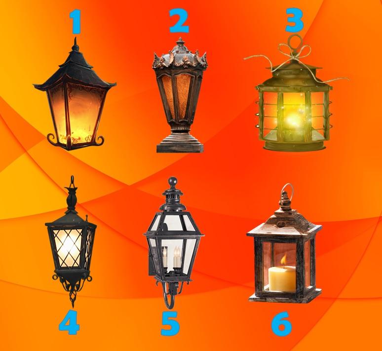 Тест: Выбирайте фонарь и узнаете, какие Вас ожидают перемены