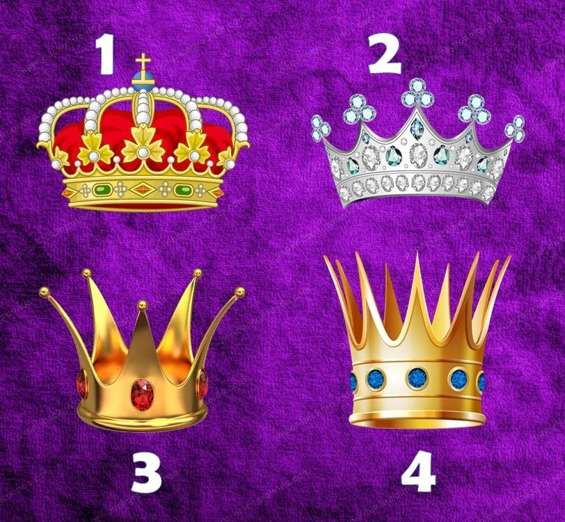Тест для женщин: Выберите корону и узнаете о себе кое-что новое