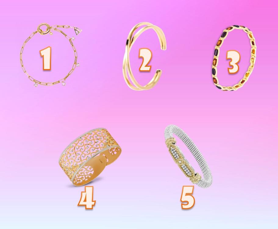 Тест для Женщин: Выберите один браслет и узнаете о своей личности