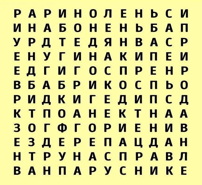 Тест: Слово, которое Вы первым увидели, охарактеризует Вашу личность