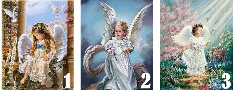 Выбирайте ангела, чтобы узнать, что Вам отправила Вселенная