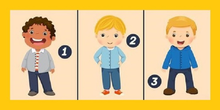 Тест на Логику: Кто из Детей на картинке Девочка