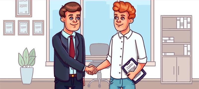 Тест на внимательность: Кто на картинке руководитель, а кто подчиненный