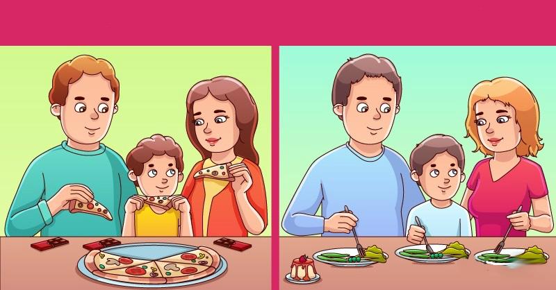 Тест на логику: Какая семья на картинке беднее