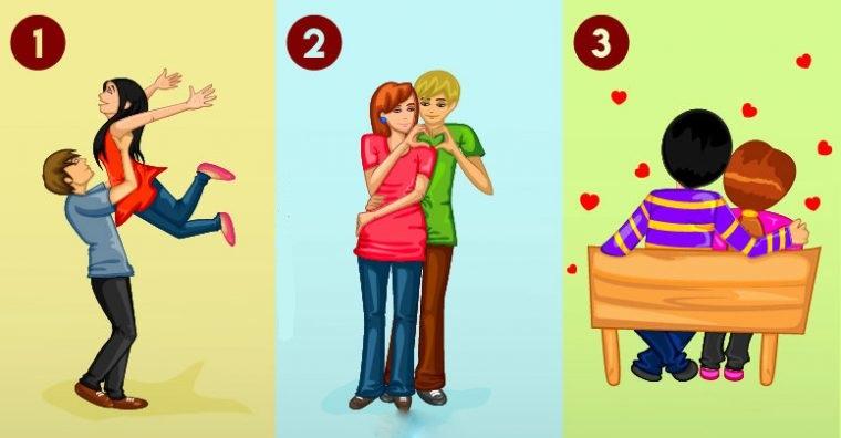 Тест: Какая пара на картинке, счастлива