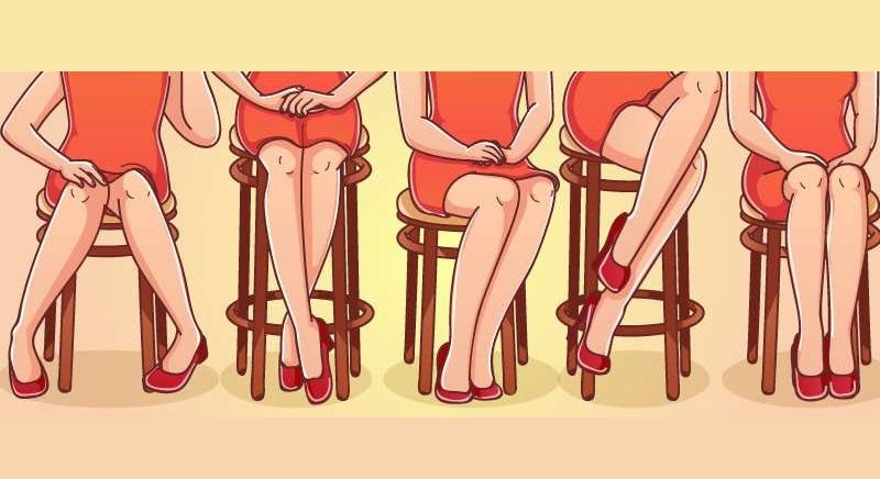 Тест для женщин: То, как Вы сидите, узнаете о характере