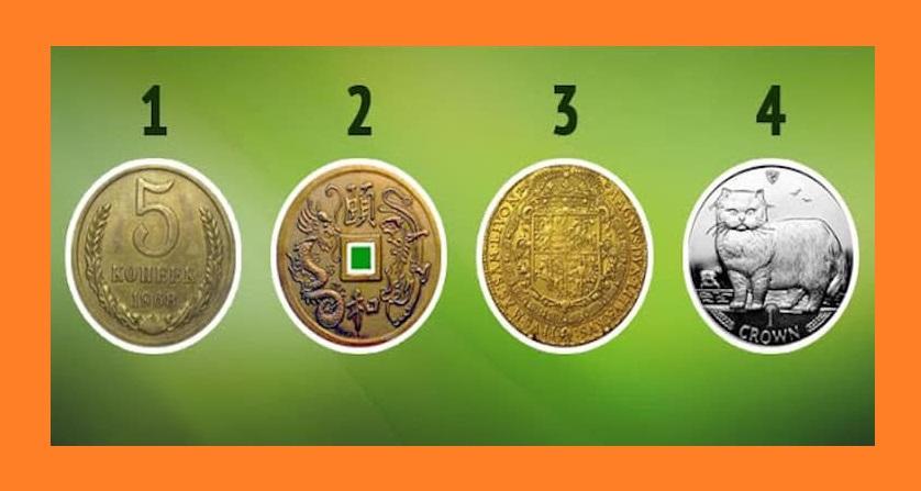 Выбирайте монетку и узнаете, когда будете богатым