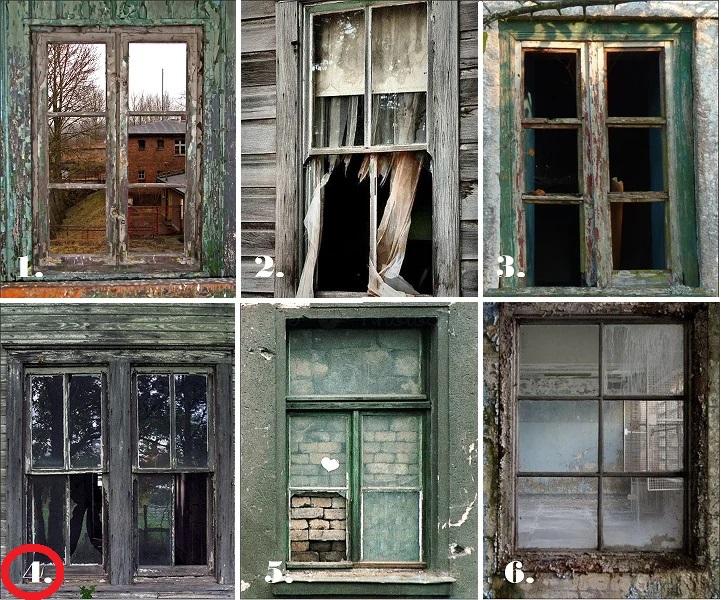 Выберите одно из 6-ти окно, которое вас больше всего пугает, оно откроет, что не дает вам покоя в душе