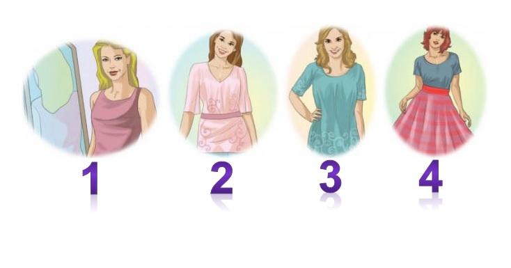 Тест: Скажите какая из женщин, по вашему мнению замужем, и узнайте что вы за женщина
