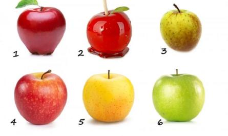 Выберите одно яблоко и узнайте, какая на вкус ваша жизнь