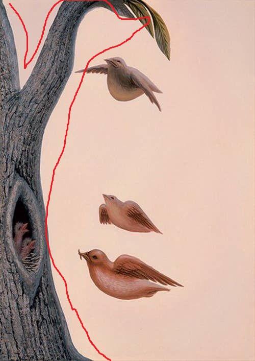 Если первым вы увидели дерево, предварительно не заметив остальных особенностей изображения, говорит о том, насколько вы активны, непосредственны и организованы, но также иногда и холодны.