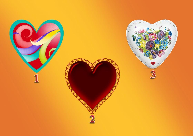 Тест: Выберете сердце на изображение и узнаете, что ждет Вас в ближайшем будущем