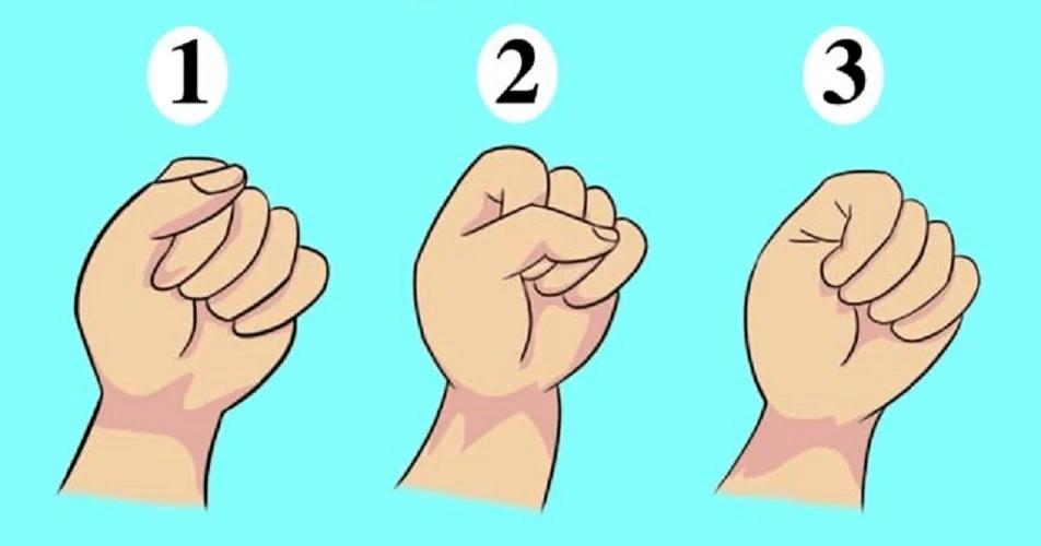Тест: Как вы сжимаете свой кулак, может многое рассказать о личности