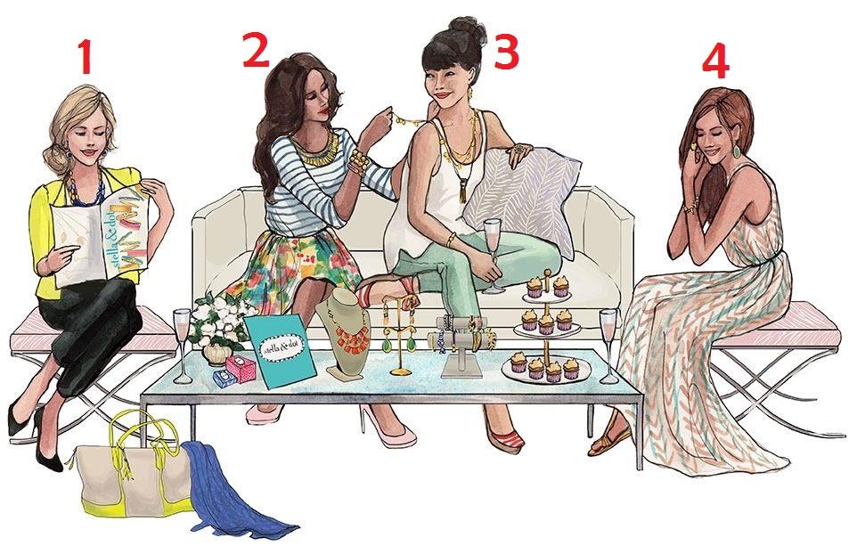 Кто из четырёх девушек является хозяйкой квартиры