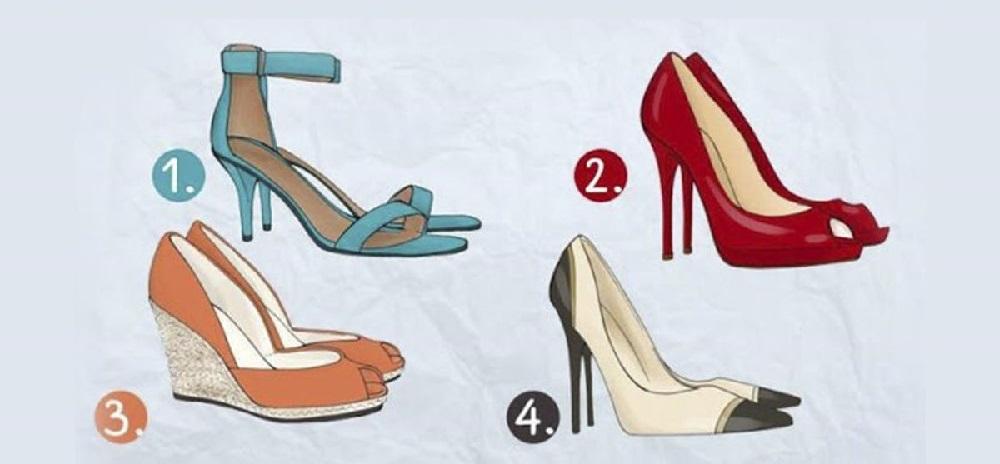 Выберите туфли, которые нравятся и узнаете о своём темпераменте