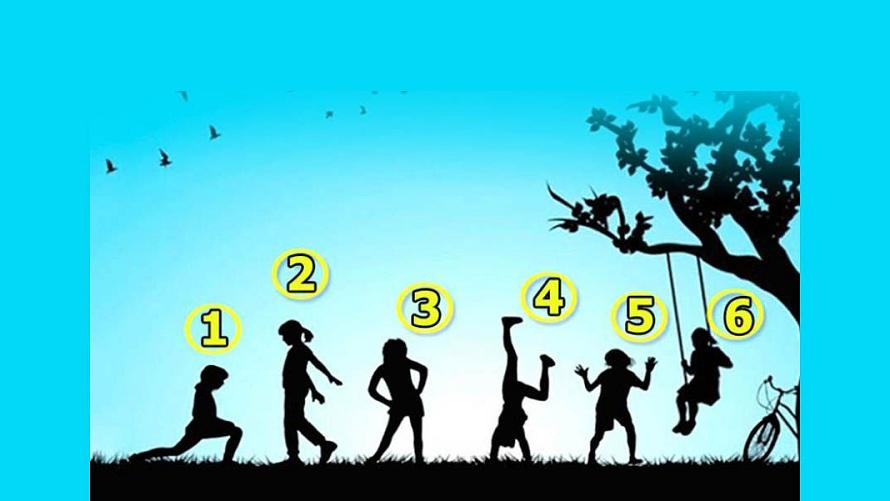 Тест: С каким ребёнком на изображении вы ассоциируете себя?